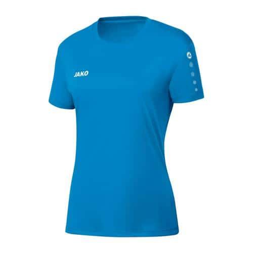 Maillot de foot manches courtes femme - Jako - Team Bleu Jako