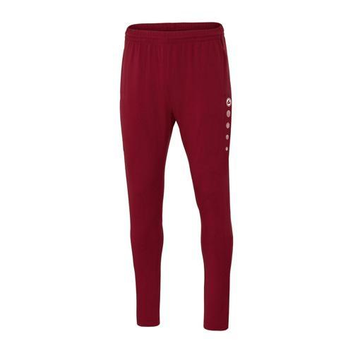 Pantalon d'entraînement de foot enfant - Jako - Premium Rouge bordeaux