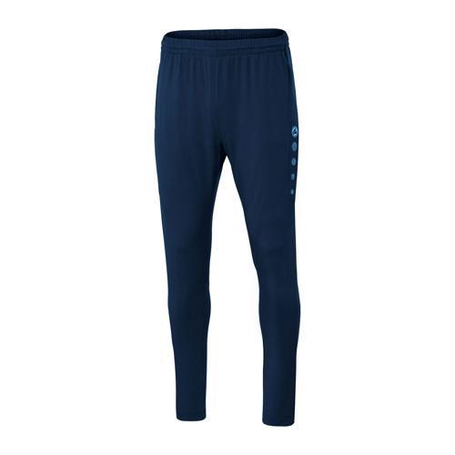 Pantalon d'entraînement de foot enfant - Jako - Premium Bleu marine/Bleu clair
