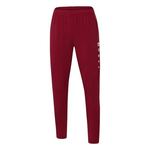 Pantalon d'entraînement de foot femme - Jako - Premium Rouge bordeaux