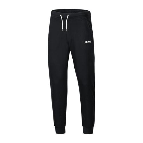 Pantalon jogging avec bord-côtes aux chevilles Jako - Base Noir