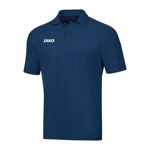 Polo manches courtes - Jako Base Bleu marine