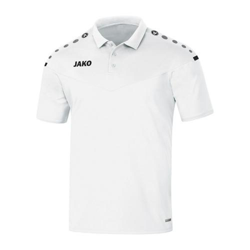 Polo manches courtes - Jako Champ 2.0 Blanc