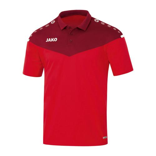 Polo manches courtes femme Jako - Champ 2.0 Rouge