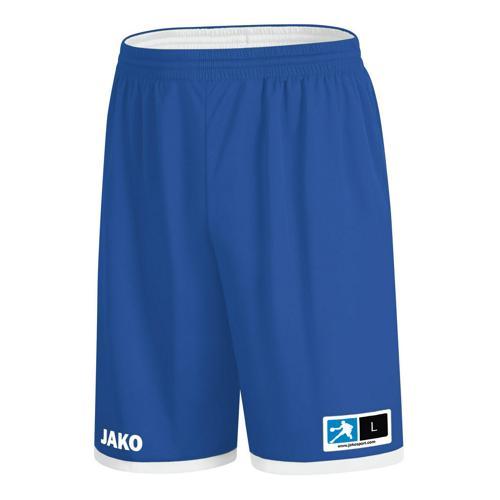 Short de basket réversible Jako - Change 2.0 Bleu/Blanc