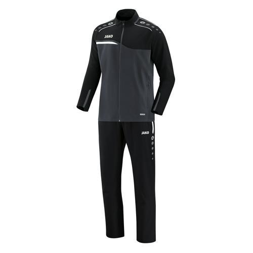 Ensemble survêtement de foot veste et pantalon enfant Jako - Competition 2.0 Gris/Noir