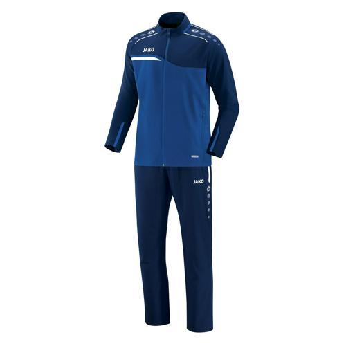 Ensemble survêtement de foot veste et pantalon enfant Jako - Competition 2.0 Bleu/Bleu marine