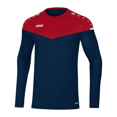 Sweat de foot - Jako - Champ 2.0 Bleu marine/Jaune