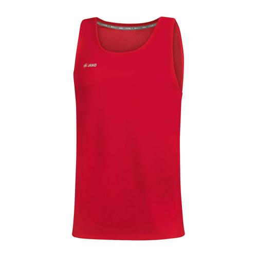 Tank Top running sans manche enfant - Jako - Run 2.0 Rouge