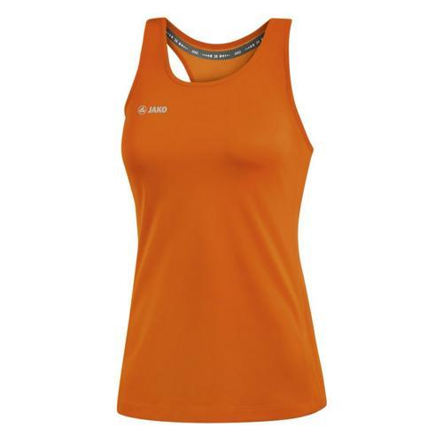 Tank Top running sans manche femme - Jako - Run 2.0 Orange fluo