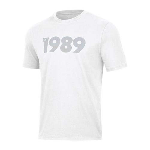 T-shirt manches courtes - Jako - 1989 Blanc