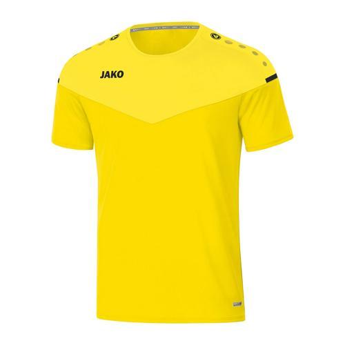 T-shirt de foot manches courtes enfant - Jako - Champ 2.0 Jaune