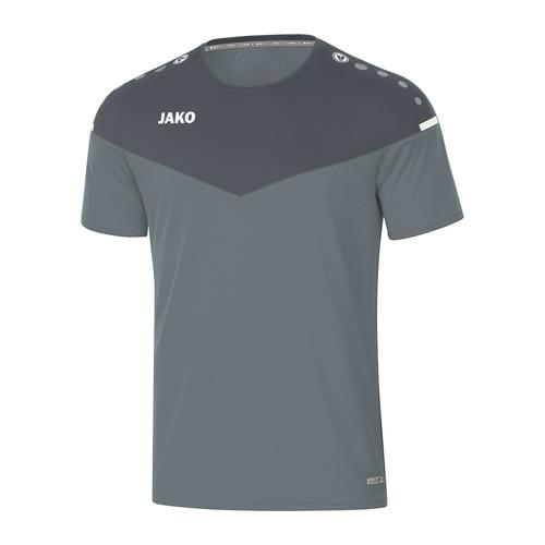 T-shirt de foot manches courtes femme - Jako - Champ 2.0 Gris