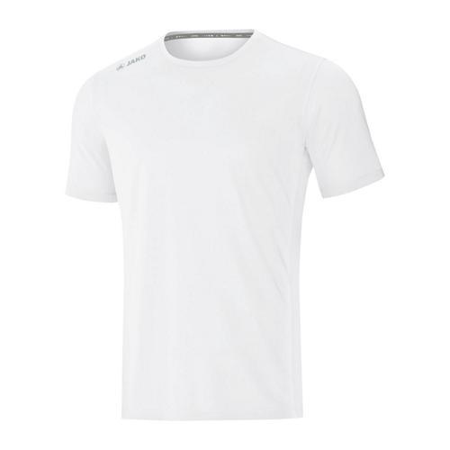 T-shirt running manches courtes enfant - Jako - Run 2.0 Blanc