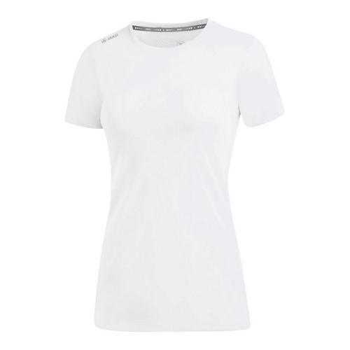 T-shirt running manches courtes femme - Jako - Run 2.0 Blanc
