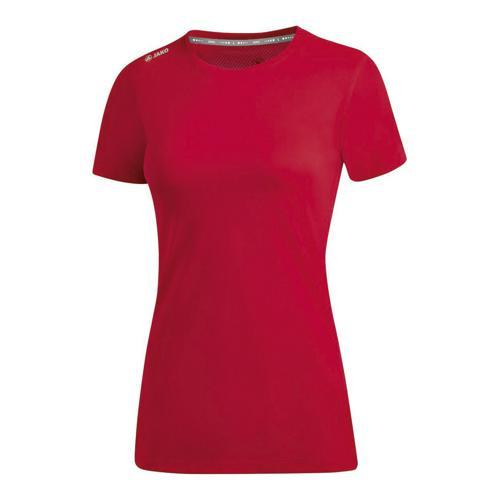 T-shirt running manches courtes femme - Jako - Run 2.0 Rouge