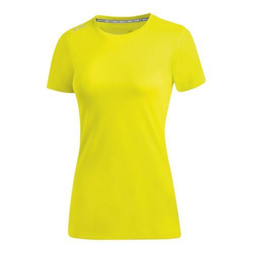 T-shirt running manches courtes femme - Jako - Run 2.0 Jaune