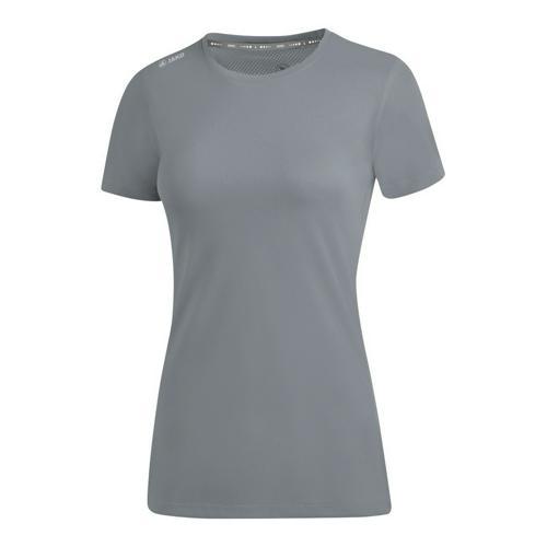 T-shirt running manches courtes femme - Jako - Run 2.0 Gris