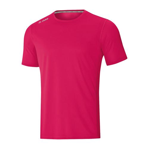 T-shirt running manches courtes enfant - Jako - Run 2.0 Rose