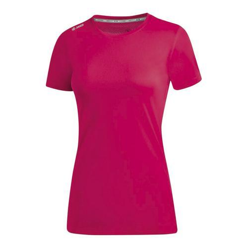 T-shirt running manches courtes femme - Jako - Run 2.0 Rose