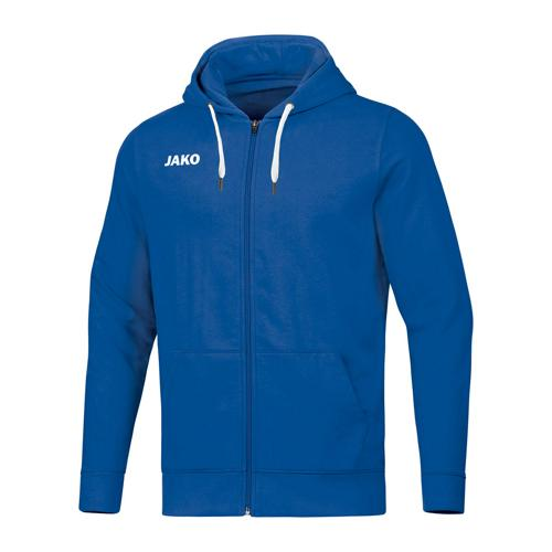 Veste de foot à capuchon enfant - Jako - Base Bleu