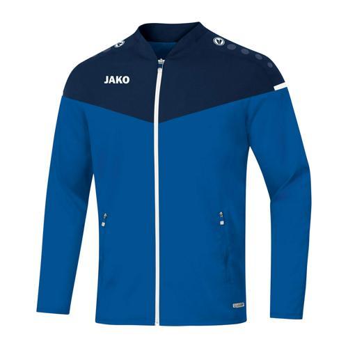 Veste de foot enfant - Jako Champ 2.0 Bleu/Bleu marine
