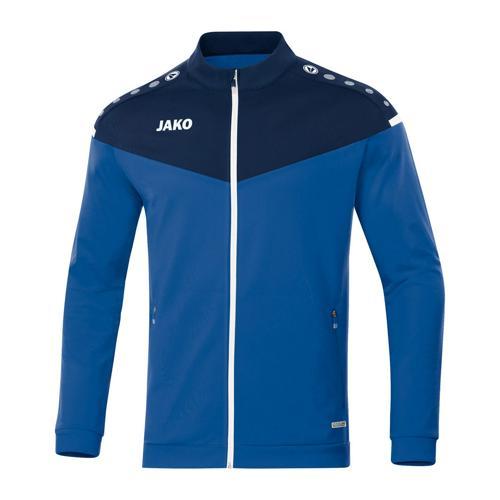 Veste de foot polyester enfant - Jako - Champ 2.0 Bleu/Bleu marine