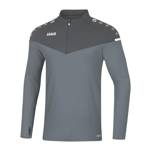 Ziptop de foot enfant - Jako Champ 2.0 Gris