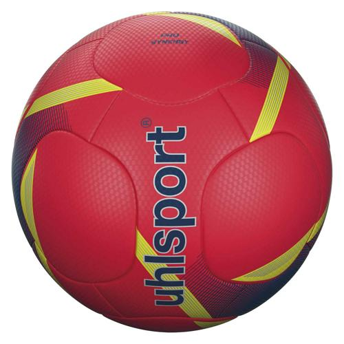 Ballon foot - Uhlsport - Pro Synergy taille 5 Rouge Fluo