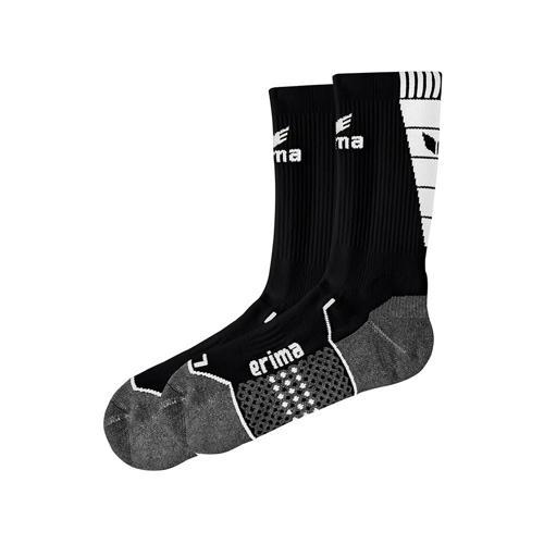 Chaussettes d'entraînement Erima - noir/blanc