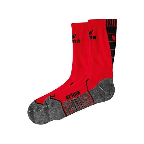 Chaussettes d'entraînement Erima - rouge/noir