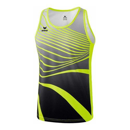 Débardeur athlétisme - Erima singlet athletic jaune fluo/noir