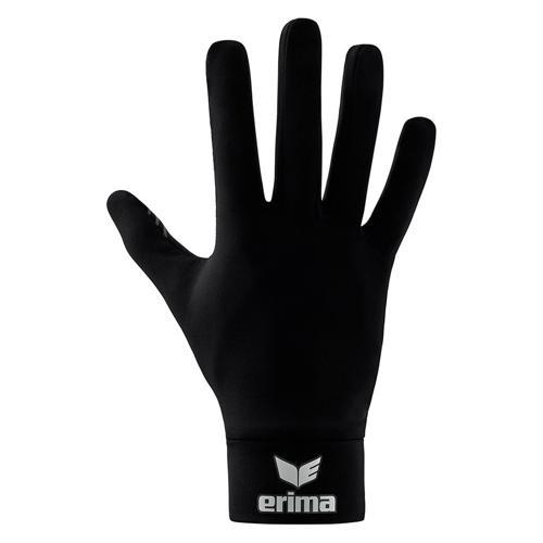 Gants fonctionnels - Erima pour joueurs de champ noir