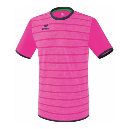 Maillot - Erima - roma manches courtes pink glo/slate grey