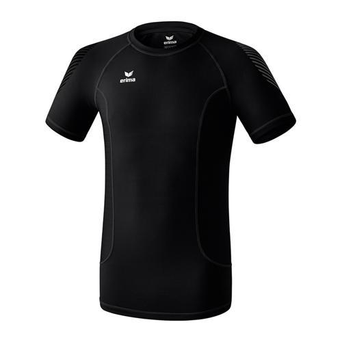 Maillot fin première couche Erima - t-shirt enfant noir