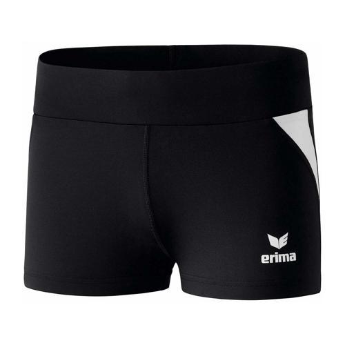 Panty athlé - Erima - hot pants femme noir/blanc