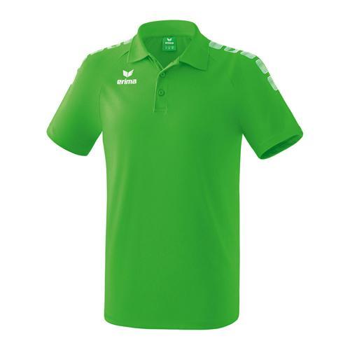 Polo - Erima - 5-c essential green/blanc