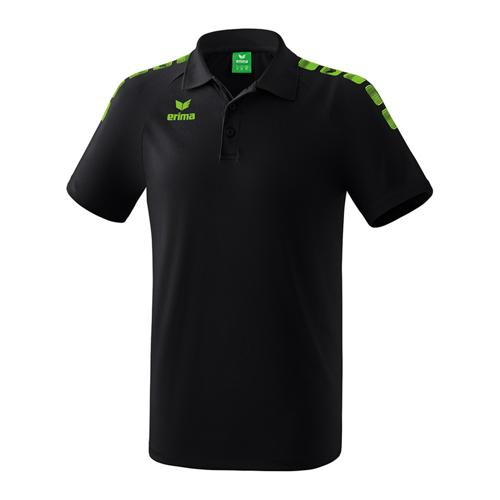 Polo - Erima - 5-c essential noir /green gecko