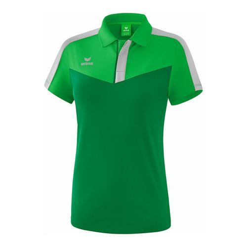 Polo - Erima - squad femme fern green/smaragd/silver grey