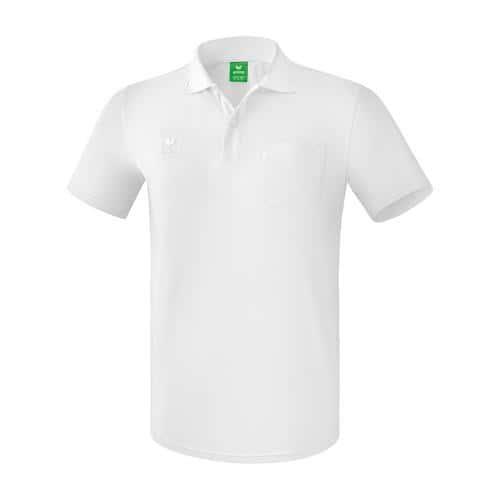 Polo avec poche - Erima blanc