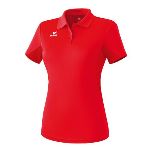 Polo fonctionnel - Erima casual basic femme rouge
