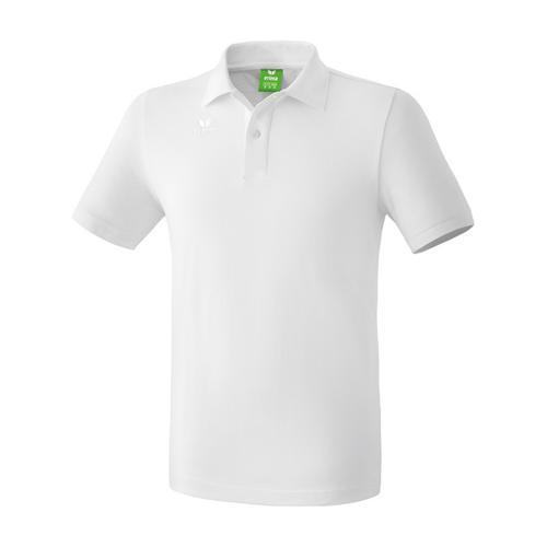 Polo teamsport - Erima casual basic enfant blanc