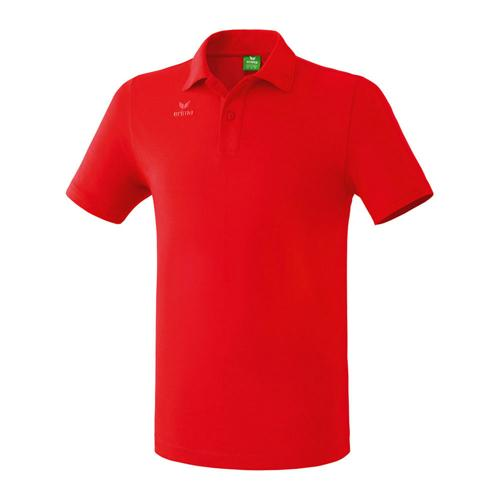 Polo teamsport - Erima casual basic enfant rouge