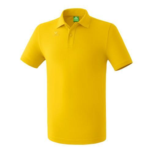 Polo teamsport - Erima casual basic jaune