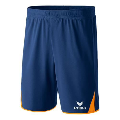 Short - Erima - 5-c classic enfant new navy/orange fluo