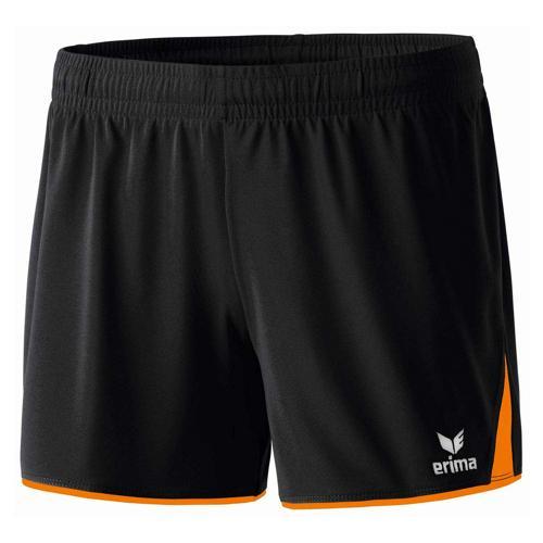 Short - Erima - 5-c classic femme noir/orange