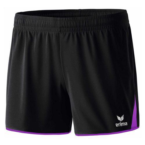 Short - Erima - 5-c classic femme noir/violet
