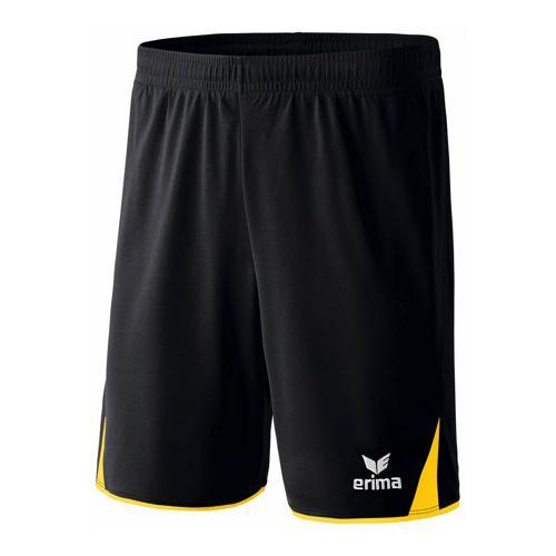 Short - Erima - 5-c classic noir/jaune