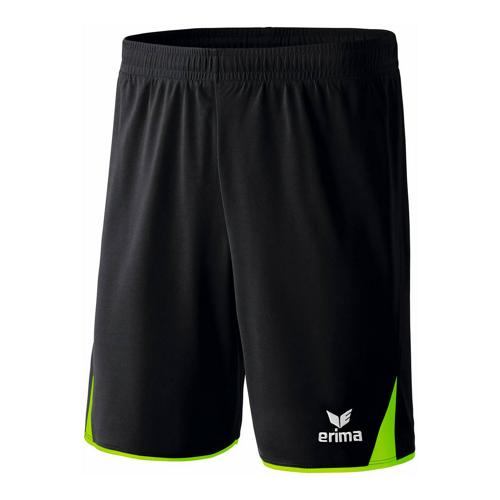 Short - Erima - 5-c noir /green gecko