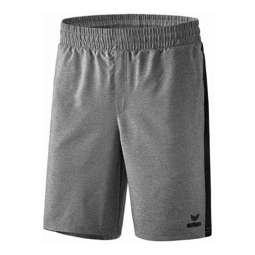 Short - Erima - premium one 2.0 gris chiné/noir